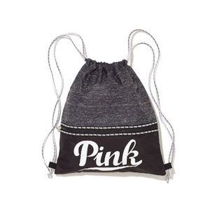 VS PINK Drawstring Backpack NIP